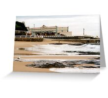 Newcastle Beach Greeting Card