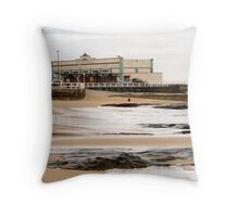 Newcastle Beach Throw Pillow