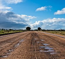 Dirt Road at Wattle Point - Edithburgh SA by AllshotsImaging