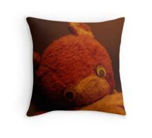 Who Has My Nose? Throw Pillow