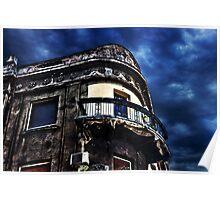 Paris Corner Building Fine Art Print Poster