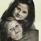 My Little Women by Bob  Thompson