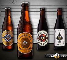 Beer Lineup by Ryan Carter