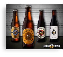 Beer Lineup Canvas Print