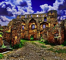 Rheinfels Castle Germany Fine Art Print by stockfineart