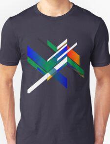Retro square design Unisex T-Shirt
