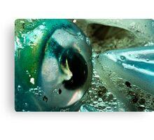 Squid Eye Macro Canvas Print