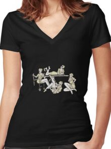 Silent Hill take care of you Women's Fitted V-Neck T-Shirt