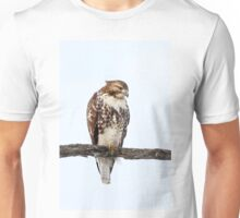 Red-tailed Hawk - Perched Unisex T-Shirt