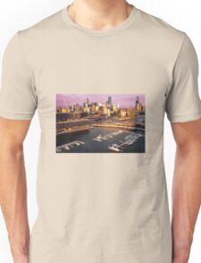 Sunset, Melbourne Docklands Unisex T-Shirt