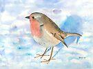 Little Robin by arline wagner