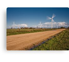 Wind Power in Motion Canvas Print
