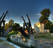 The Van Gogh Bridge, Arles, France by Beth A
