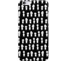 Mononoke pattern -black- iPhone Case/Skin