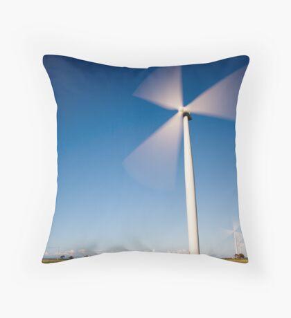 Perpetual Spin Throw Pillow