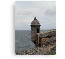 Fort San Felipe del Morro Canvas Print