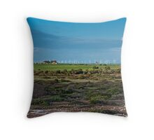 Wattle Point Windfarm - From South Coast Rd Throw Pillow
