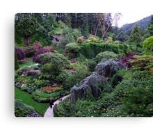 Sunken Garden No.2 Canvas Print