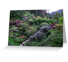 Sunken Garden No.2 Greeting Card