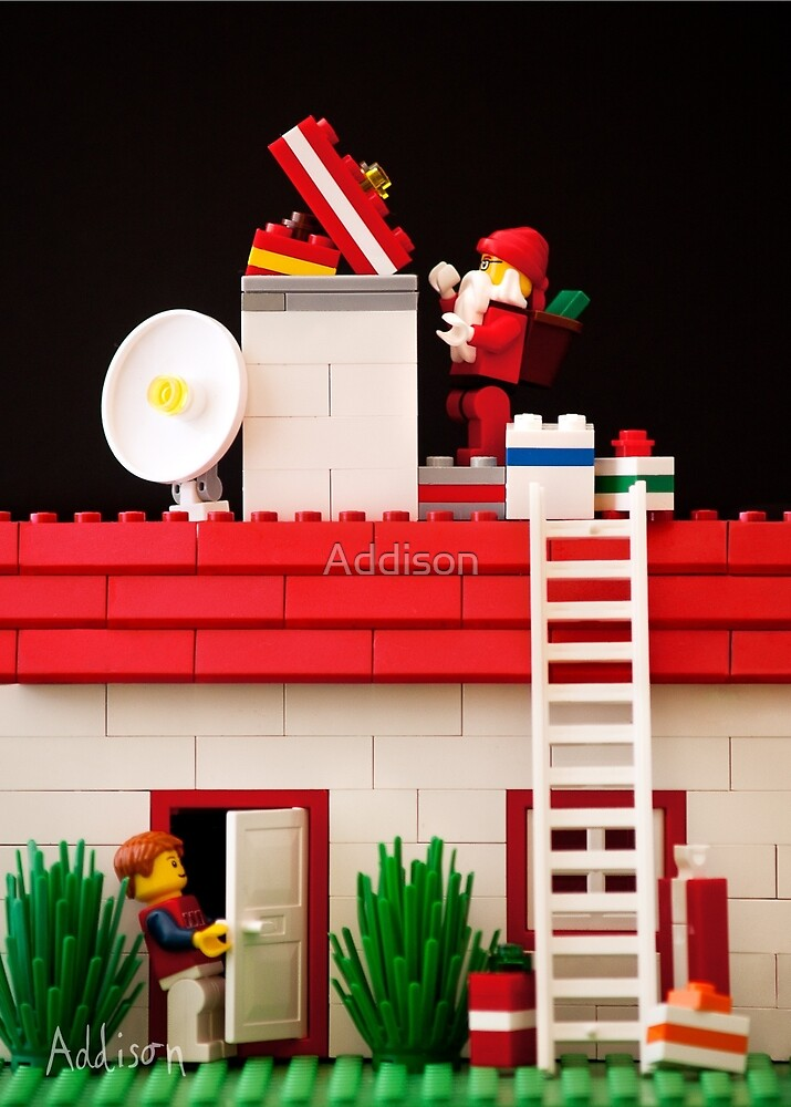 Who's That Up On The Roof? by Addison