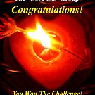 Hearts On Fire Challenge Banner by Vanessa Bowen