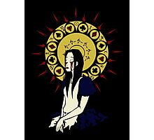 Madness Maiden (design for black tee) Photographic Print