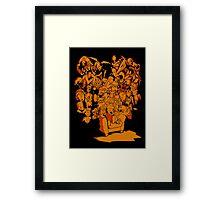 Tales of Video Games (orange) Framed Print