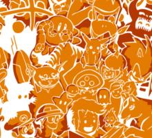 Tales of Video Games (orange) Sticker