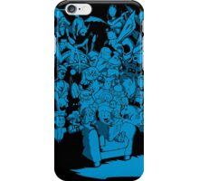 Tales of Video Games (blue) iPhone Case/Skin
