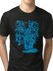 Tales of Video Games (blue) Tri-blend T-Shirt