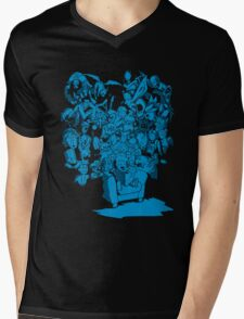 Tales of Video Games (blue) Mens V-Neck T-Shirt