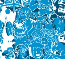 Tales of Video Games (blue) Sticker