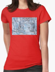 Elizabeth Bay Grotto Womens Fitted T-Shirt