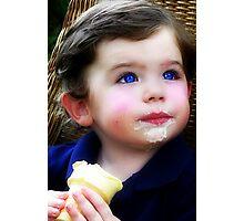 I Love Ice Cream! Photographic Print
