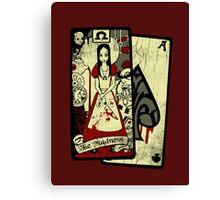 The Omega card Canvas Print