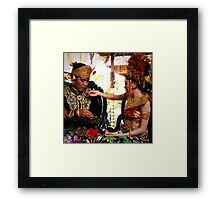 Wedding, Ubud, Bali Framed Print
