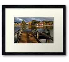 Lake Daylesford Framed Print