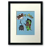 Rawr-ry Potter Framed Print