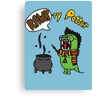 Rawr-ry Potter Canvas Print