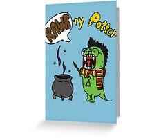 Rawr-ry Potter Greeting Card