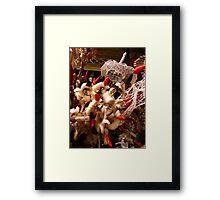 Pig Offering, Ubud, Bali Framed Print