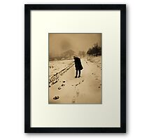 Boston Blizzard Framed Print