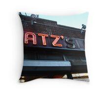Katz Deli, New York, New York Throw Pillow
