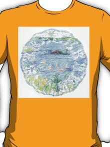 Five Boats in the Bay T-Shirt