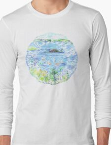 Five Boats in the Bay Long Sleeve T-Shirt