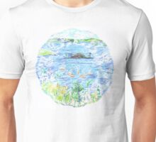 Five Boats in the Bay Unisex T-Shirt