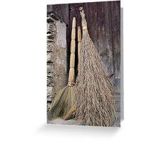 Yunnan Brushes, South China Greeting Card