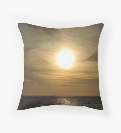 Sunset in Half Moon Bay. California 2007 Throw Pillow