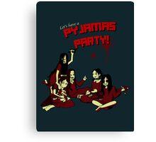 Pyjamas Party Canvas Print