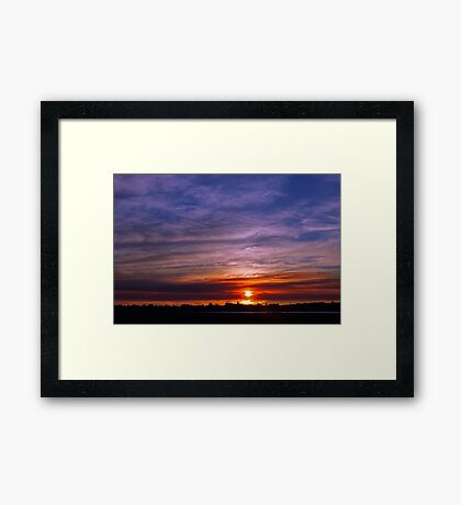 Applecross Sunset  Framed Print